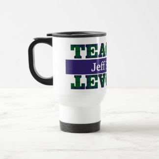 Plaid Teacher's Travel Mug