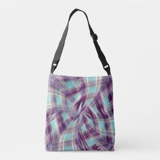 Plaid With a Twist Crossbody Bag