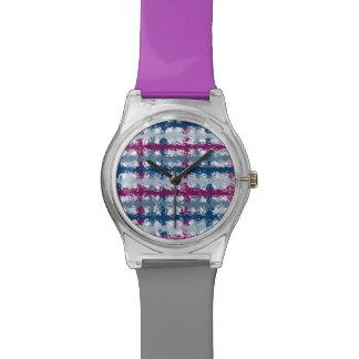 Plaid Wristwatches