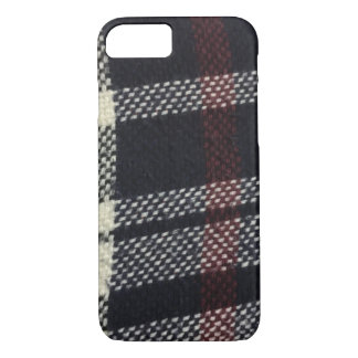 Plaided Fabric Texture iPhone Case