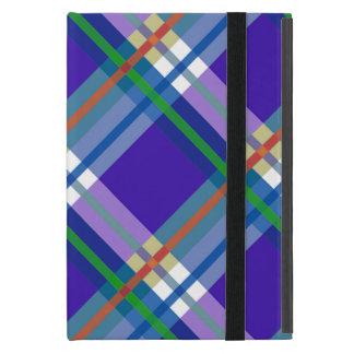 Plaids, Checks, Tartans Blue iPad Mini Cases