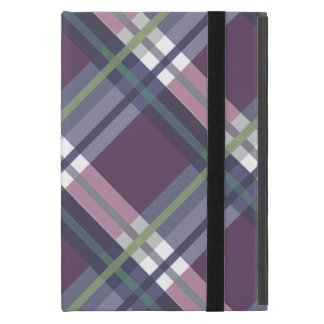 Plaids, Checks, Tartans Wine Cover For iPad Mini