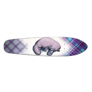 Plaidypus Custom Skateboard