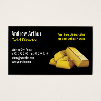 Plain Black 2 - Business Cards