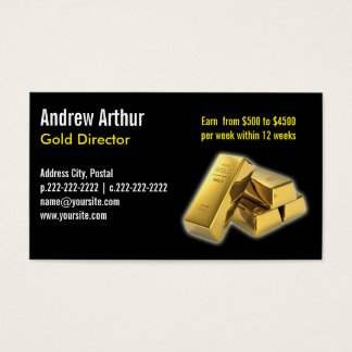 Plain Black - Business Cards