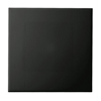 Plain Blank Black Grey DIY add quote text photo Ceramic Tiles
