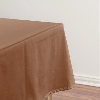Plain Brown Tablecloth
