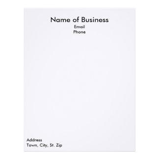 Plain Business Letterhead
