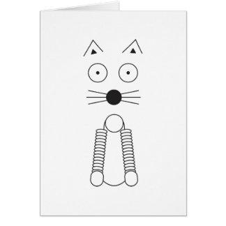 Plain CAT Card