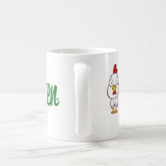 Plain Chicken Coffee Mug