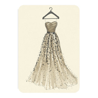 Plain Dress All Occasion's Card