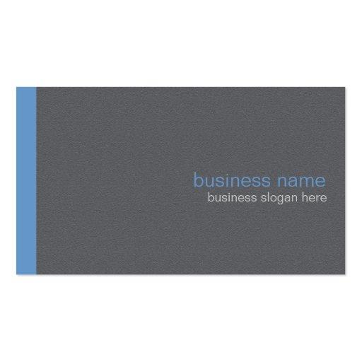 Plain Elegant Modern Simple Blue Stripe Business Card Template