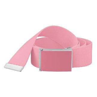 Plain Flamingo Love Pink belt