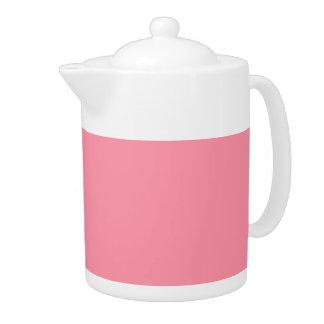 Plain Flamingo Love Pink teapot