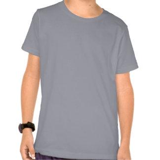 Plain grey american apparel t-shirt for kids