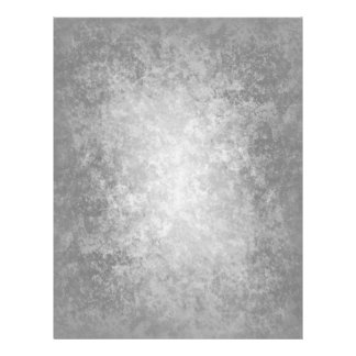 Plain grungy gray background full color flyer