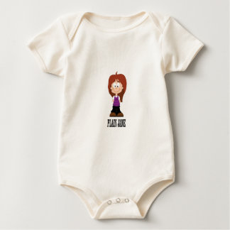plain jane girl baby bodysuit