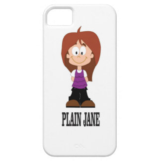 plain jane girl iPhone 5 case