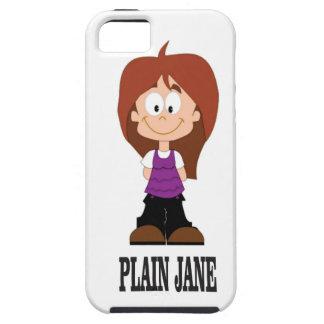 plain jane girl iPhone 5 cases