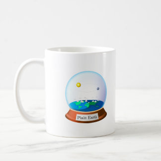 Plain land in a cylindrical mug
