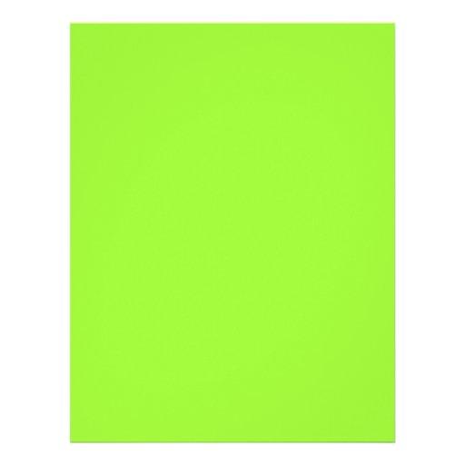 Plain lime green background letterhead zazzle - Plain green background ...