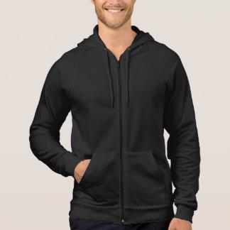 Plain, Men's Sleeveless Zip (Customizable) Hoodie