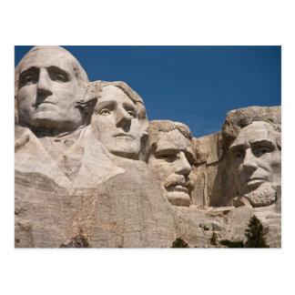 Plain Mount Rushmore National Memorial SD Postcard