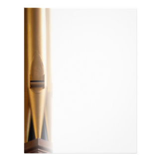 Plain organ pipe letterhead