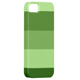 Plain Pale Green Stripes Case For The iPhone 5