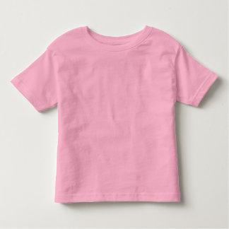 Plain Pink Toddler Fine Jersey T-Shirt