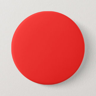Plain RED : Buy BLANK or Add TEXT n IMAGE lowprice 3 Inch Round Button