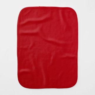 Plain Red Color Burp Cloth