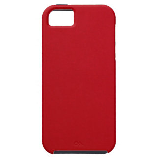 Plain Red Color Case For The iPhone 5