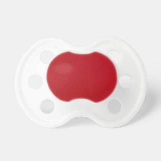Plain Red Color Pacifier