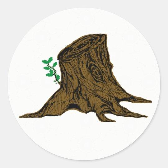 Plain Root of Jesse Tree Sticker