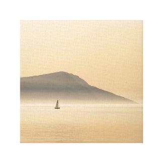 Plain Sailing Canvas Print