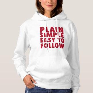 Plain Simple Girls Women T-shirt Top