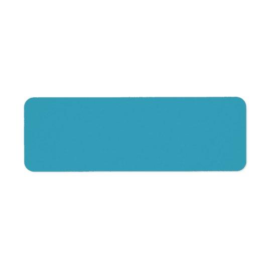 Plain teal blue background blank