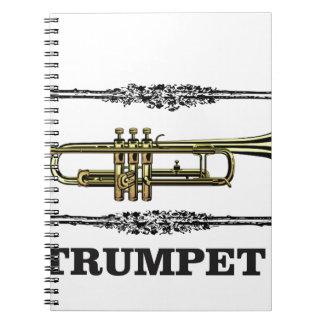 plain trumpet notebook