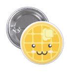 Plain Waffle Button