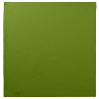 Plain Watermelon Dark Green napkins cloth