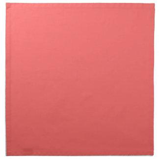 Plain Watermelon Pink napkins cloth