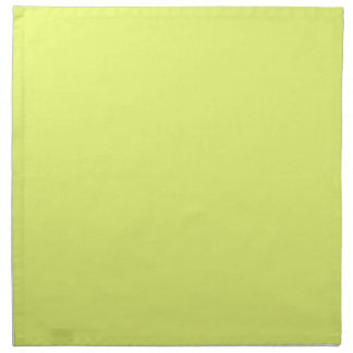 Plain Watermelon Yellow Green napkins cloth