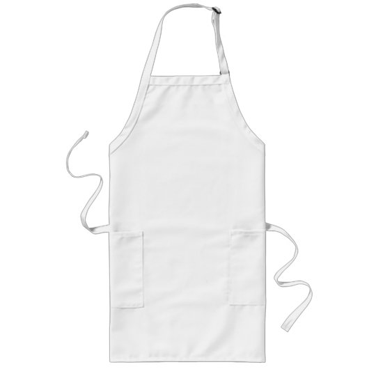 Plain White Apron