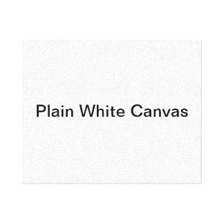 Plain White Canvas