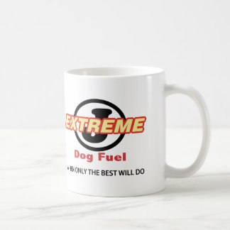 Plain White Circle J Extreme Dog Fuel Coffee Mug