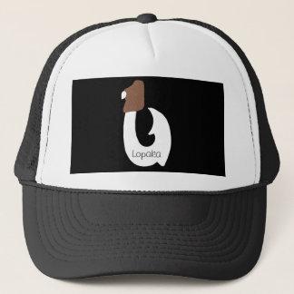 Plain White fish hook hat