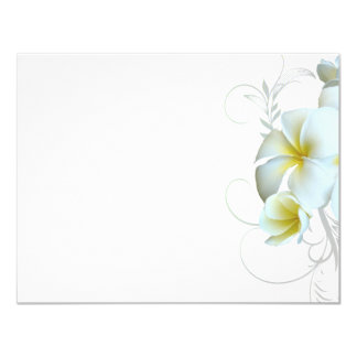 plain_white_plumeria_flourish_invitation_paper rc1c083e3e2944101b2d2ae18de2148f6_zk9ma_324?rlvnet=1 plain white invitations & announcements zazzle canada,Plain White Invitations
