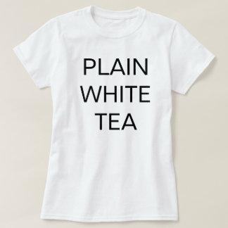 """Plain White TEA"" Shirt"