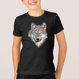 Plain Wolf Tshirt kids